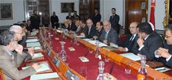 Le Chef du gouvernement provisoire Hamadi Jebali a reçu