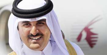 L'Emir de Qatar