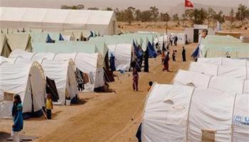 Plusieurs centaines de réfugiés ayant fui le conflit Lybien en 2011 ont refusé de quitter le camp de la Choucha dans le sud tunisien dimanche 30juin