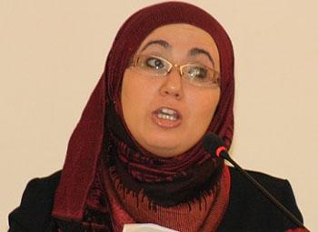 La présidente de l'association Liberté&Equité