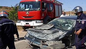 Un jeune garçon de 14 ans a trouvé sa mort et 8 autres ont été blessés dans un accident de la route survenu dimanche
