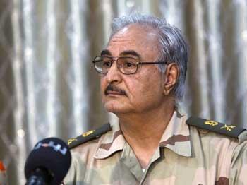 Le commandant des forces armées libyennes