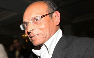 Le président provisoire de la République et fondateur du parti Congrès pour la République (CPR)