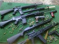 Les unités de la Garde nationale du district de Médenine