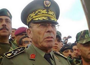 Le général Rachid Ammar  a déclaré au quotidien Al Sarih