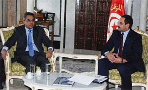 Le président Le groupe malaisien de consulting et d'investissement « Amani »