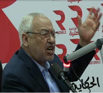 Le leader du parti islamiste tunisien