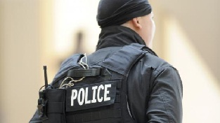 Un agent de la garde national à Hammam Bourguiba