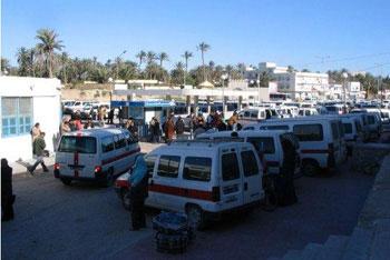 Certains conducteurs de louages du gouvernorat de Kairouan ont protesté