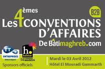 Tunisie Place de marché organise les 4èmes conventions d'Affaires de Batimaghreb.com en partenariat avec Tunisie Télécom et la Banque