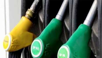 Le prix du litre d'essence à la pompe a été augmenté de 100 millimes