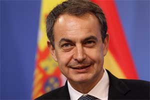 Le printemps arabe est l'un de ces grands moments d'espoir, a déclaré l'ex-Premier ministre espagnol (2004-2011)