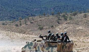 Les forces spéciales algériennes ont lancé une vaste opération de ratissage