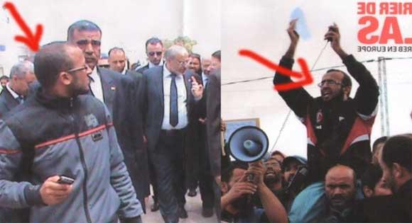 Notre confrère Al Jarida vient d'obtenir la photo d'un des proches de Hamadi Jebali au sujet duquel les vérifications faites par les journalistes