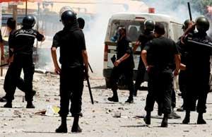 Un poste de la garde nationale et un bureau du parti Nida Tounes ont été saccagés