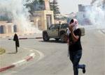 Les forces de l'ordre ont utilisé le gaz lacrymogène