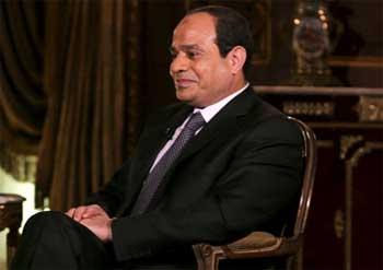 Le président égyptien Abdel Fattah al-Sissi est arrivé mercredi matin à