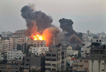 En 50 jours Gaza a essuyé  60.664 raids israéliens qui ont détruit une