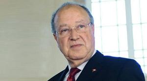 Le président de l'assemblée nationale constituante
