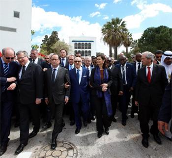 La Tunisie n'est pas seule dans sa lutte contre le terrorisme et cette présence massive le confirme
