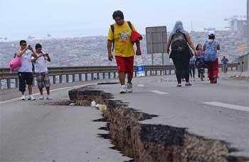 Un nouveau séisme