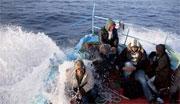 Les gardes côtes italiens ont sauvé deux jeunes tunisiens qui étaient à bord d'un bateau