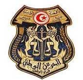 L'agent de la garde nationale Chaker Kasdaoui à l'un des hôpitaux de la capitale Tunis des suites de sa blessure par une arme à feu
