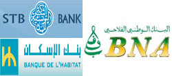 la commission chargée de l'audit des trois banques publiques (Banque de l'Habitat /BH/