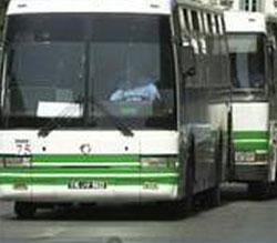 Un bus de la compagnie privée de transport terrestre (TCV) s'est renversé