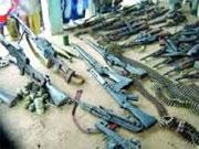 Les services de sécurité ont mis en ligne vendredi une vidéo montrant l'arsenal d'armes découvert dans une cache située dans la région de « Ouadi Errabaiaâ »