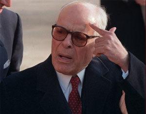 Le président de la République provisoire Moncef Marzouki