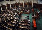 La séance plénière de l'Assemblée Nationale Constituante (ANC)