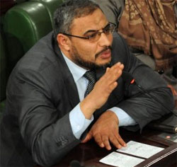Le président du groupe parlementaire d'Ennahdha à l'ANC
