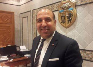 Hatem ferjani, secrétaire d'Etat auprès du ministre des Affaires étrangères chargé de la diplomatie économique
