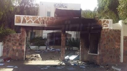 Tunisie les bureaux de la douane deviendraient ils inflammables