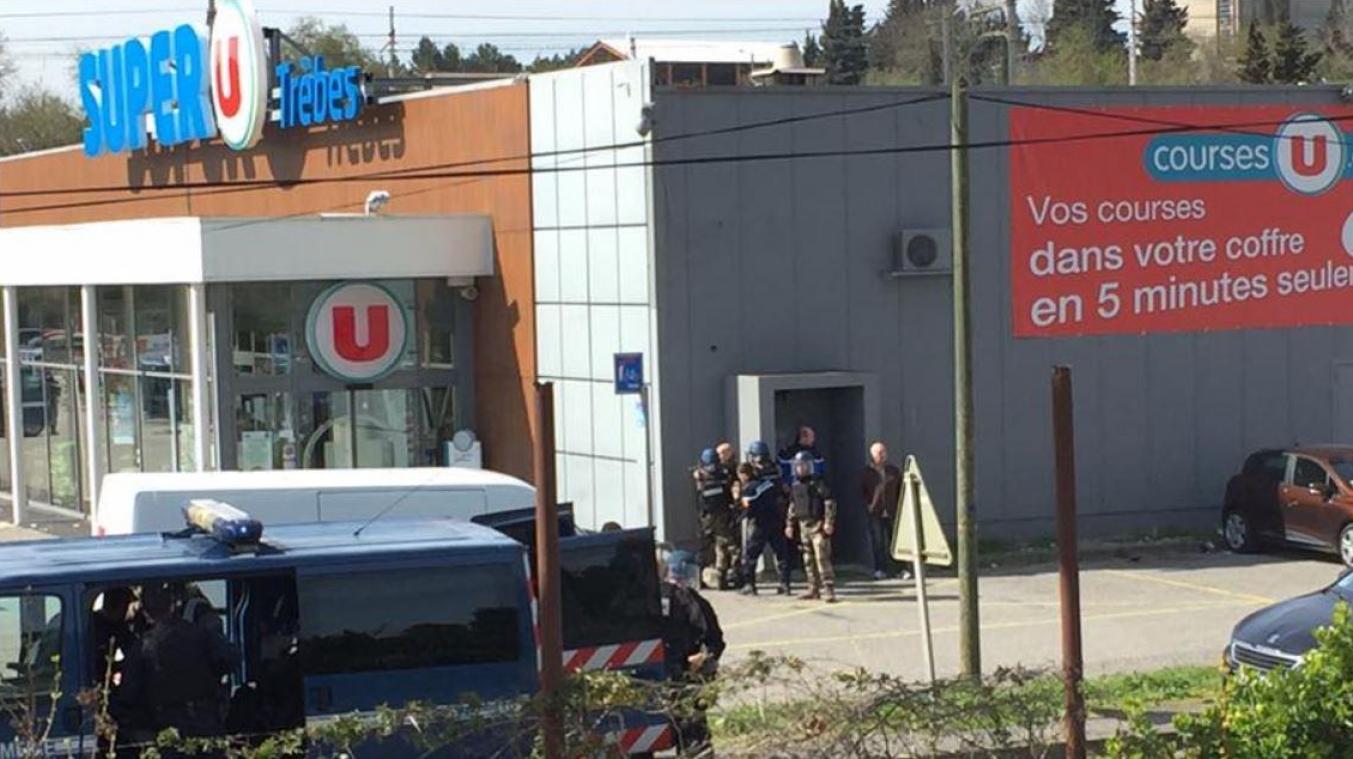 Prise d'otages à Carcassonne (France) : Au moins un mort et des blessés