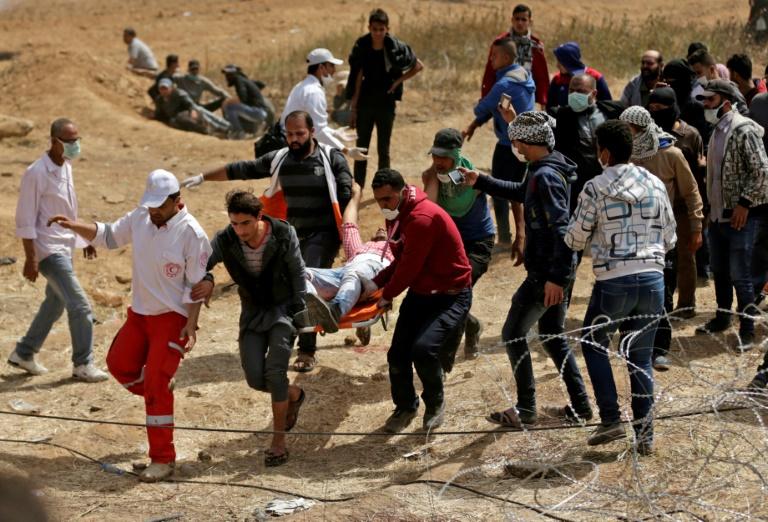 Cinq Palestiniens blessés par des tirs israéliens à Gaza