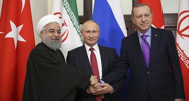 Syrie : La Russie, la Turquie et l'Iran réunies pour un sommet tripartite