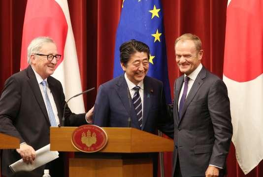 L'UE et le Japon scellent un accord commercial