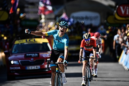 Cort Nielsen l'emporte à Carcassonne — Tour de France