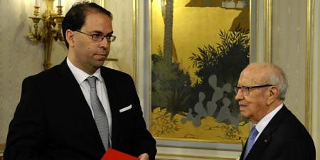 BCE conseille à Chahed d'aller au Parlement pour un vote de confiance