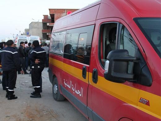 7 morts dans un accident de la route à Zaghouan