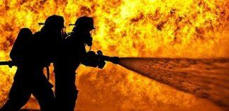 Bizerte : Un important incendie ravage une usine de friperie à Menzel Jemil