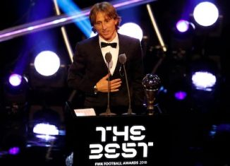 "Luka Modric et Marta triomphent aux ""The Best - FIFA Football Awards 2018"""