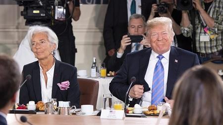 La DG du FMI pointe le danger Trump pour l'économie mondiale