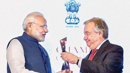 L'Inde, 6e économie mondiale et championne de l'environnement !