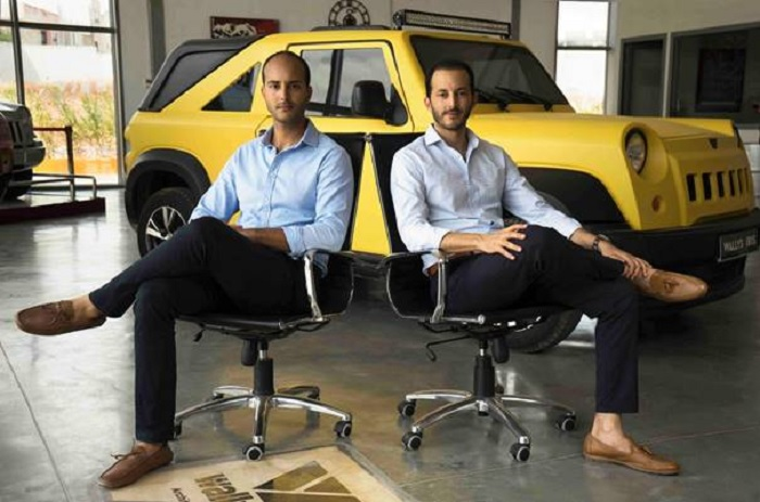 De gauche à droite Omar et Zied Guiga, les deux promoteurs de Wallys (credit photo Wallys)