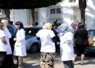 Des cadres paramédicaux en sit-in ouvert à Sousse et à Monastir Dhd6-326x235