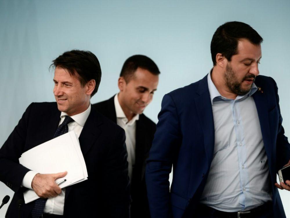 Conte va former un nouveau gouvernement sans Salvini — Italie
