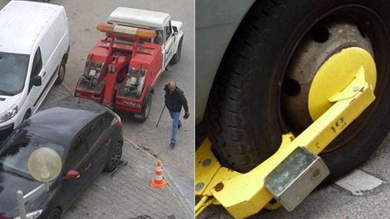 La mise en fourrière, le sabot et les parking ...